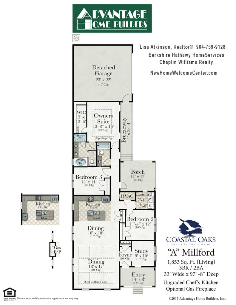 Millford Floor Plan