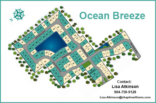 Ocean Breeze Site Map