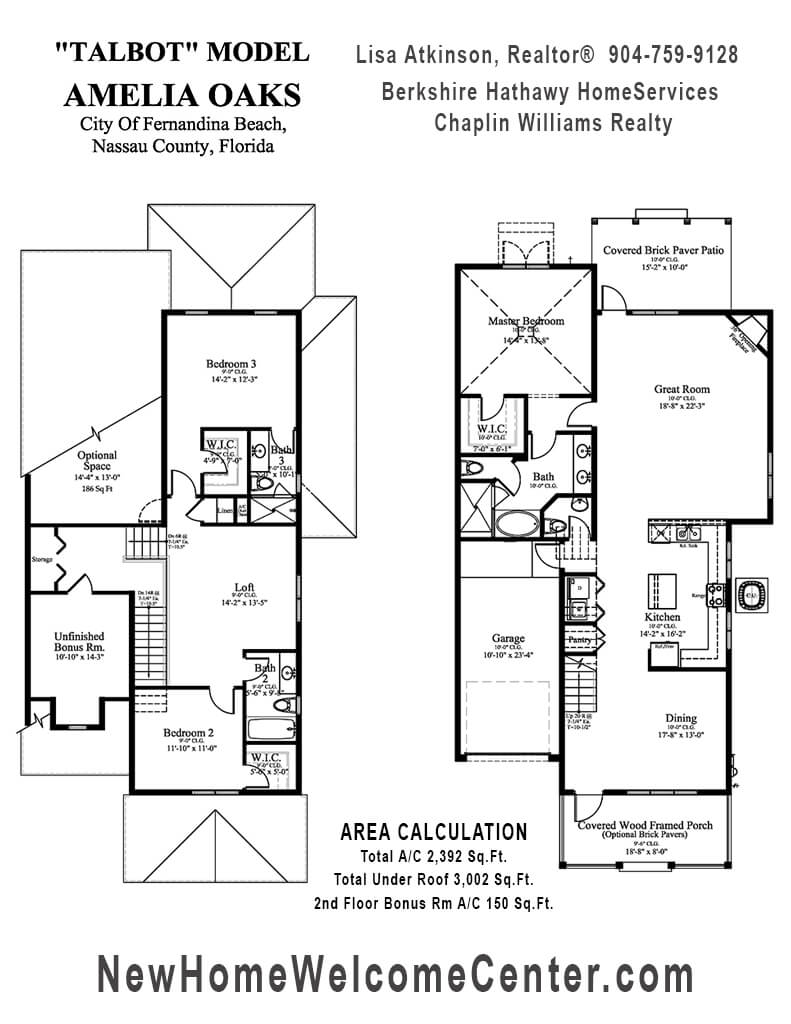The Talbot Floor Plan